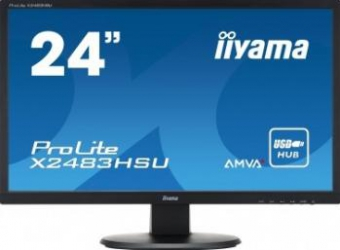 Monitor LED 24 iiyama ProLite X2483HSU Full HD 4ms