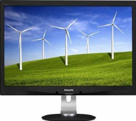imagine Monitor LED 24 Philips 240B4QPYEB WUXGA 5ms GTG Negru 240b4qpyeb/00