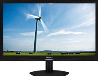 imagine Monitor LED 24 Philips 241S4LSB Full HD Negru Carbonite 241s4lsb/00