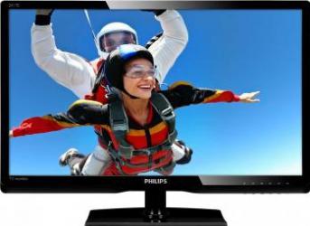imagine Monitor LED 24 Philips 241TE5LB Full HD TV-Tuner Black. 241te5lb/00_resigilat