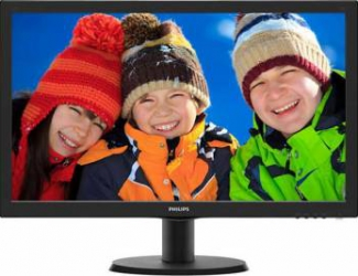 Monitor LED 24 Philips 243V5LSB500 Full HD 5ms Monitoare LCD LED