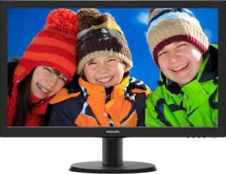 Monitor LED 24 Philips 243V5LSB500 Full HD 5ms monitoare lcd led