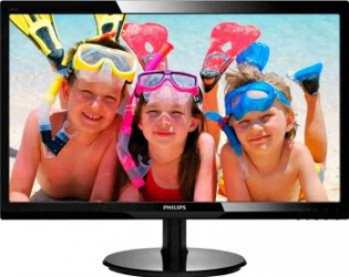 imagine Monitor LED 24 Philips 246V5LAB00 Full HD Glossy Black 246v5lab/00