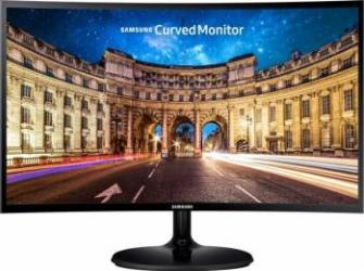 Monitor Curbat LED 24 Samsung LC24F390FHUXEN FullHD 4ms Black