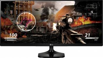 Monitor LED 25 LG 25UM58-P UW-XGA 5ms IPS Negru Monitoare LCD LED
