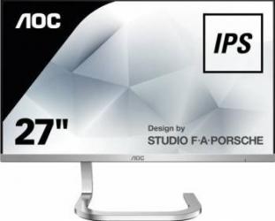 Monitor LED 27 AOC PDS271 Full HD IPS 4ms GTG Monitoare LCD LED