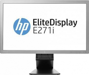 imagine Monitor LED 27 HP EliteDisplay E271i Full HD 7ms GTG d7z72aa
