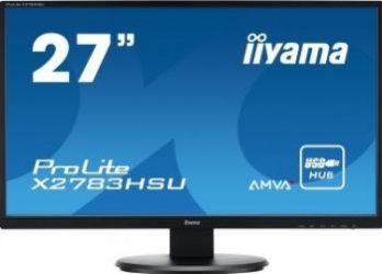 Monitor LED 27 Iiyama ProLite X2783HSU Full HD 4ms Monitoare LCD LED