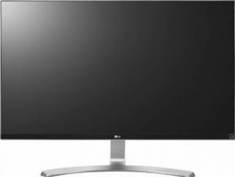 Monitor LED 27 LG 27UD68-W 4K-UHD IPS Black Resigilat Monitoare LCD LED