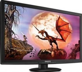 Monitor LED 27 Philips 273E3LHSB Full HD 2ms Black Monitoare LCD LED