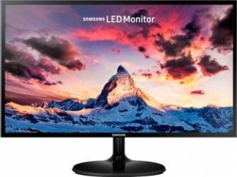 Monitor LED 27 Samsung LS27F350FHUXEN 4ms FullHD Black Monitoare LCD LED