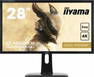 Monitor LED 28 Iiyama G-Master Gold Phoenix GB2888UHSU UHD 1 ms Negru Monitoare LCD LED