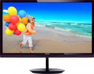 imagine Monitor LED 28 Philips 284E5QHAD Full HD Black Chery 284e5qhad/00