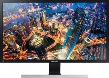 Monitor LED 28 Samsung U28E590D 4K UHD 1ms GTG Negru Lucios Resigilat monitoare lcd led
