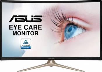 Monitor Curbat LED 31.5 Asus VA327H Full HD 4ms GTG Monitoare LCD LED