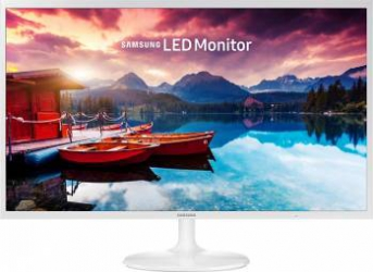Monitor LED 31.5 Samsung LS32F351FUUXEN Full HD 5ms White Monitoare LCD LED