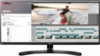 Monitor LED 34 LG 34UM88C-P IPS UWQHD 5 ms Negru Monitoare LCD LED