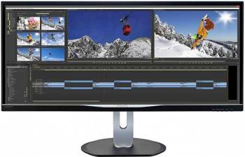 Monitor LED 34 Philips BDM3470UP UWQHD 5ms GTG Negru Monitoare LCD LED