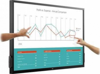 Monitor LED 69.5 Touchscreen Dell C7017T Full HD Monitoare LCD LED