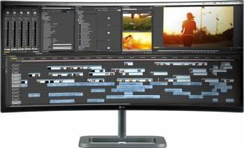 imagine Monitor LED Curbat 34 LG 34UC87M-B Ultrawide WQHD 5ms GTG Argintiu-Negru 34uc87m-b