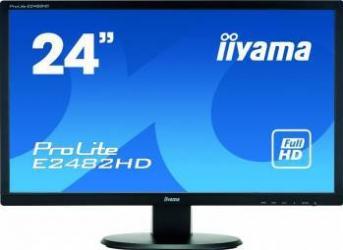 Monitor LED 24 IIyama Prolite E2482HD-B1 Full HD 5ms Negru Monitoare LCD LED