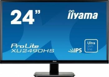 Monitor LED 24 IIyama Prolite XU2490HS-B1 Full HD 5ms Negru