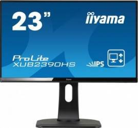 Monitor LED 23 Iiyama XUB2390HS-B1 Full HD 5ms Negru Monitoare LCD LED