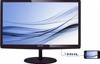 Monitor LED Philips 227E6EDSD00 21.5 inch Full HD IPS Negru
