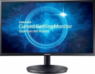 Monitor LED Samsung Gaming C24FG70FQU Quantum Dot Curbat 23.5 inch 1 ms FreeSync 144Hz Monitoare LCD LED