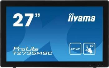 Monitor LED 27 Touchscreen Iiyama T2735MSC-B2 Full HD 5ms Negru Monitoare LCD LED