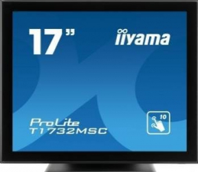 Monitor LED 17 Touchscreen Iiyama Prolite T1732MSC-B1X SXGA 5ms Negru Monitoare LCD LED