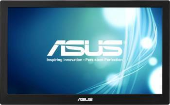 Monitor portabil LED 15.6 Asus MB168B 11 ms USB 3.0 Negru-Argintiu