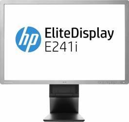 Monitor Refurbished LED 24 HP EliteDisplay E241i Full HD IPS 8ms Monitoare LCD LED Reconditionate