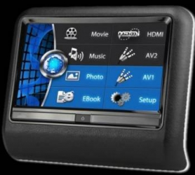 Monitor tetiera Car Vision TMD-002TS universal cu display 9 inch touch screen Monitoare auto