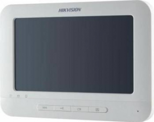 Monitor videointerfon Hikvision DS-KH6310 7-Inch Colorful TFT LCD Videointerfoane