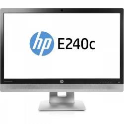 Monitor Refurbished HP EliteDisplay E240C 24 inch IPS W LED  Webcam Full HD Monitoare LCD LED Reconditionate