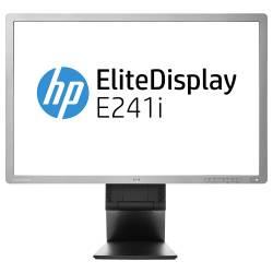 Monitor Refurbished HP EliteDisplay E241i 24 inch IPS LED VGA DVI USB Full HD Monitoare LCD LED Reconditionate