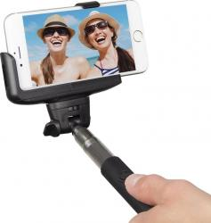 Monopied pentru Selfie KitVision Bluetooth Black Gimbal, Selfie Stick si lentile telefon
