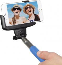 Monopied pentru Selfie KitVision Bluetooth Blue Gimbal, Selfie Stick si lentile telefon