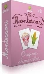 Montessori - Asocieri originea alimentelor