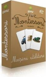 Montessori - Vocabular Masini utilitare