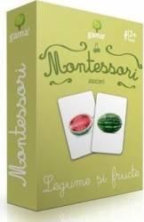 Montessori. Asocieri - Legume si fructe