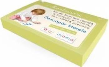 Montessori. Descopar literele Kit de invatare rapida a scrisului si cititului