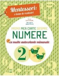Montessori o lume de realizari. Prima mea carte despre numere
