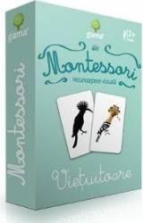 Montessori. Recunoastere vizuala - Vietuitoare Carti