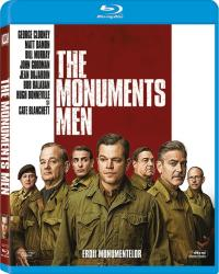 MONUMENTS MEN BluRay 2014