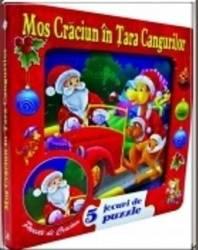 Mos Craciun in Tara Cangurilor - 5 Jocuri de puzzle
