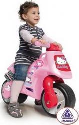 Motocicleta fara pedale Hello Kitty Injusa Masinute si vehicule pentru copii
