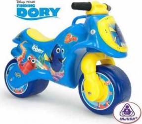 Motocicleta fara pedale Injusa Neox Dory Blue Masinute si vehicule pentru copii