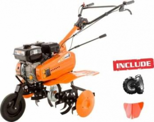 Motosapa Ruris Dac 7000B 7CP + roti cauciuc + rarita Motosape